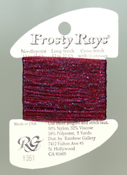 Frosty Rays Deep Garnet Gloss - Rainbow Gallery