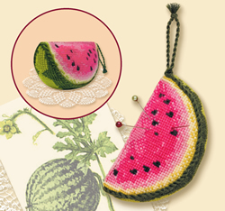 Borduurpakket Water Melon Pincushion - RIOLIS