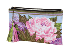Borduurpakket Cosmetic bag Summer Bouquet - RIOLIS