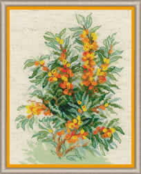 Borduurpakket Sea Buckthorn - RIOLIS