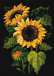 Diamond Mosaic Sunflowers - RIOLIS