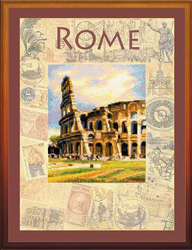Borduurpakket Cities of the World - Rome - RIOLIS