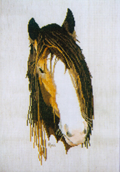 Borduurpatroon Clydesdale - Ross Originals