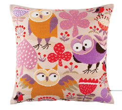 Borduurpakket Wise Owls - RTO