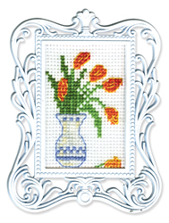 Borduurpakket Framed Art Vase - RTO