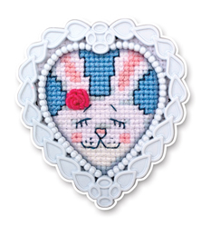 Borduurpakket Framed Art Bunny - RTO