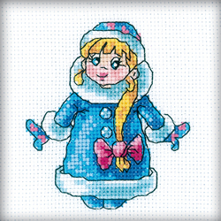 Borduurpakket Snow Maiden - RTO