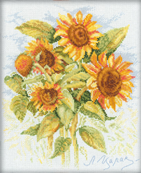 Borduurpakket Sunflowers - RTO
