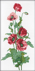 Borduurpakket Poppies - RTO