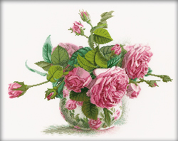 Borduurpakket Romantic Roses - RTO