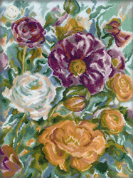 Borduurpakket Rose Watercolour - RTO