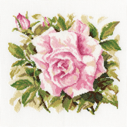 Borduurpakket Wild Rose - RTO