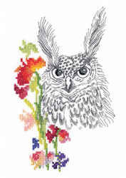 Borduurpakket Fairy Tales of the Old Forest - Owl - RTO