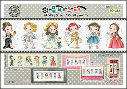 Borduurpatroon Movies in my Memory - Soda Stitch