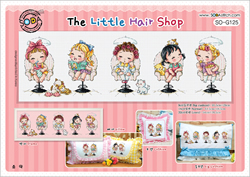 Borduurpatroon The Little Hair Shop - Soda Stitch