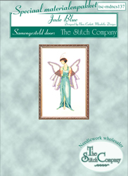 Materiaalpakket Jade Blue - The Stitch Company