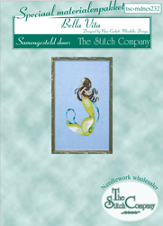 Materiaalpakket Petite Mermaid Collection - Bella Vita - The Stitch Company