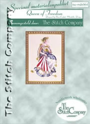 Materiaalpakket Queen of Freedom - The Stitch Company
