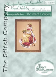 Materiaalpakket Royal Holiday A Christmas Queen - The Stitch Company