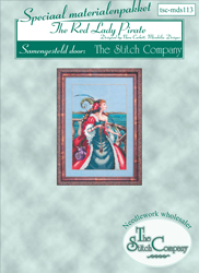 Materiaalpakket The Red Lady Pirate - The Stitch Company