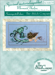 Materiaalpakket Mermaid Undine - The Stitch Company