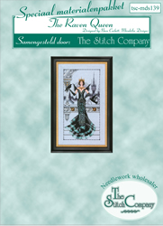 Materiaalpakket The Raven Queen - The Stitch Company
