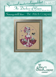 Materiaalpakket The Duchess of Rouen - The Stitch Company