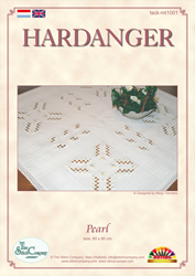 Hardangerpatroon Pearl - The Stitch Company