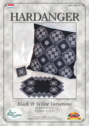 Hardangerpatroon Black & White Variations - The Stitch Company