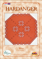Hardangerpakket Terra - The Stitch Company