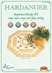 Hardanger Beginnerspakket 2 Geel - The Stitch Company