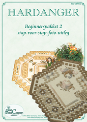 Hardanger Beginnerspakket 2 Beige - The Stitch Company