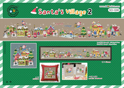 Borduurpakket Santa's Village 2 - The Stitch Company