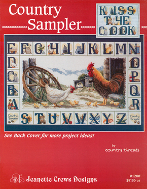 Borduurpatroon Country Sampler - Jeanette Crews Designs