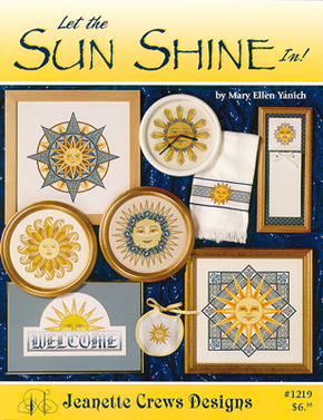 Borduurpatroon Let the Sun Shine In! - Jeanette Crews Designs