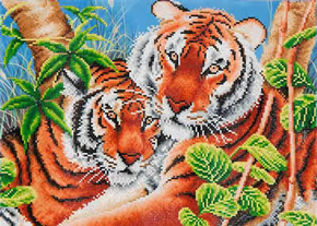 Diamond Dotz Tender Tigers - Needleart World