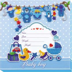 Kralen borduurpakket Metric for a Boy - Abris Art