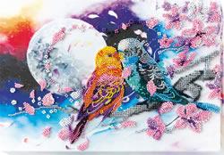 Bead Embroidery kit Inseparable - Abris Art