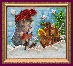 Bead Embroidery kit Surprise - 1 - Abris Art