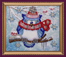 Bead Embroidery kit Owl – 5 - Abris Art