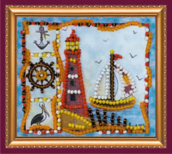 Bead Embroidery kit ?ruise - Abris Art