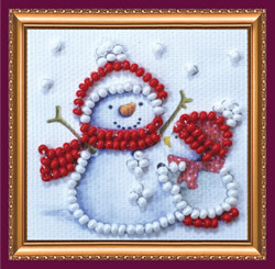 Bead Embroidery kit Big Friend - Abris Art