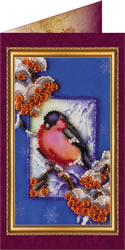 Bead Embroidery kit Happy New Year - 1 - Abris Art