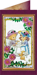 Bead Embroidery kit Dear Playmate - Abris Art