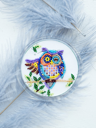 Bead Embroidery kit Good Morning - Abris Art