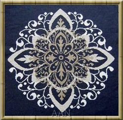 Cross Stitch Chart Arabesco - Alessandra Adelaide