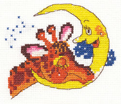 Cross stitch kit It's time to sleep - Alisa
