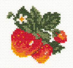 Cross stitch kit Strawberry - Alisa