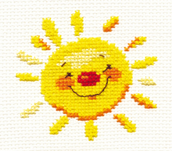 Cross stitch kit Sun - Alisa