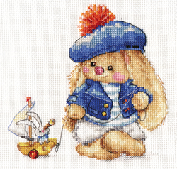 Borduurpakket Sailor - Alisa